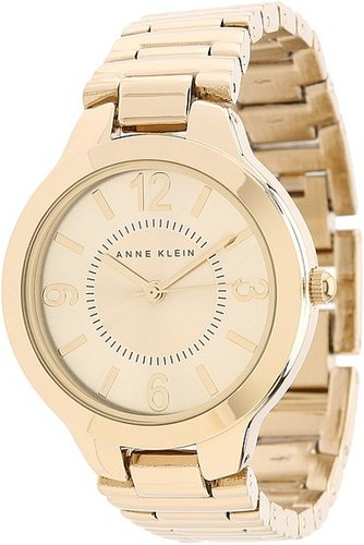 Anne Klein - AK-1450CHGB Everyday Classics Watch (Gold) - Jewelry