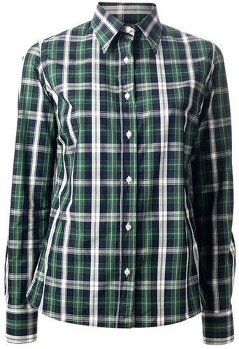 Stella Jean 'Kunto' plaid shirt