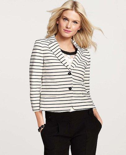 Harlow Stripe 3/4 Sleeve Jacket