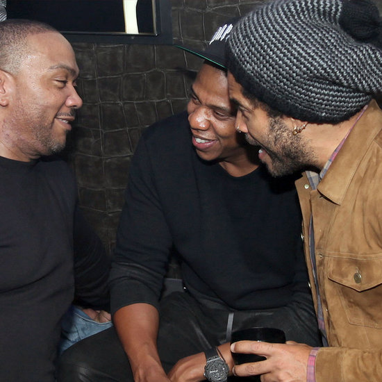 Jay Z Partying in Paris With Lenny Kravitz and Timbaland
