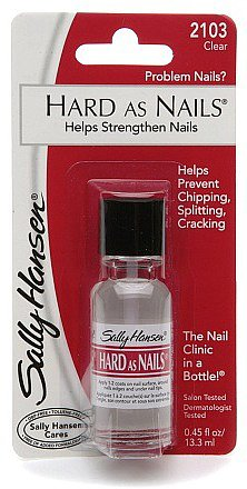 Sally Hansen Hard As Nails - Helps Strangthen Nails Clear