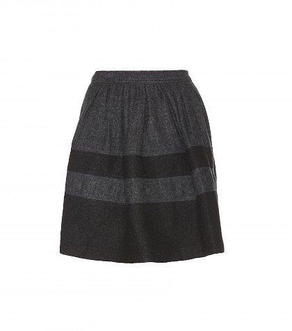 Burberry Brit - Wool-blend skirt