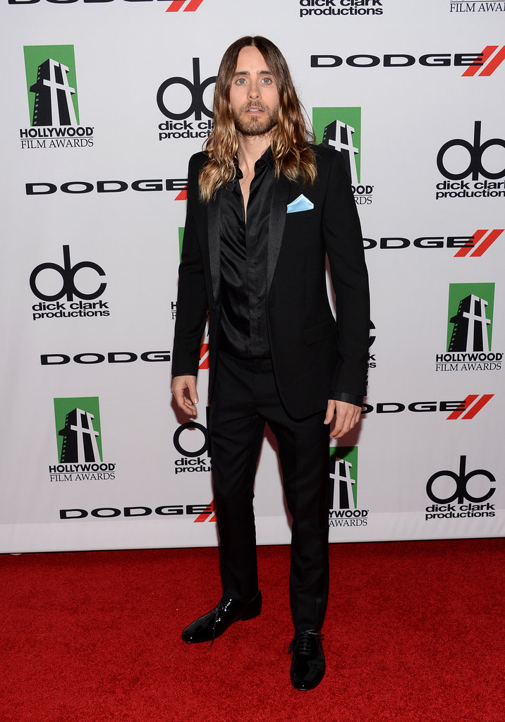 Jared Leto won the award for breakout performance at the Hollywood Film Awards.