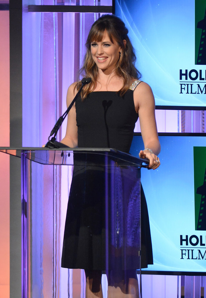 Jennifer Garner presented in style at the Hollywood Film Awards in Beverly Hills.
