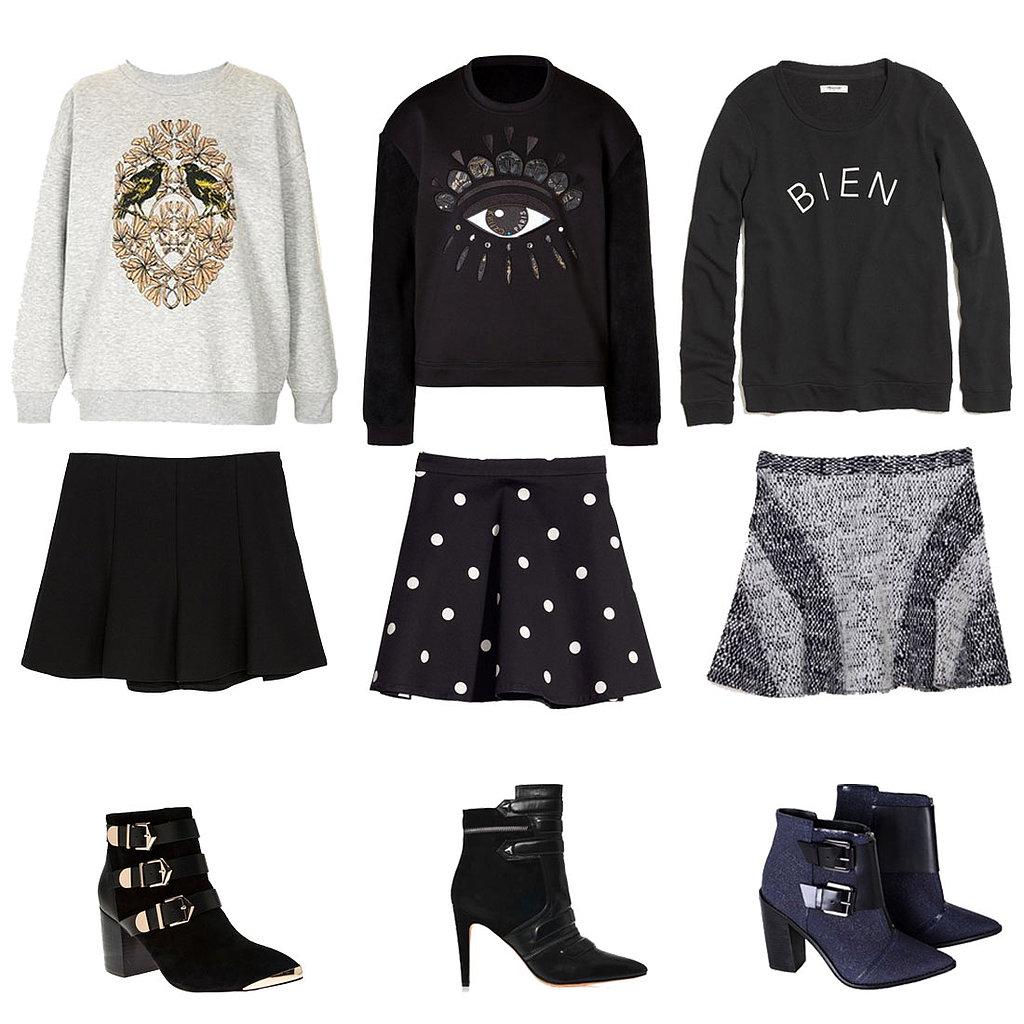 Sweatshirt Outfits For Fall | POPSUGAR Fashion