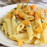 Penne With Butternut Squash Sauce and Squash Caponata
