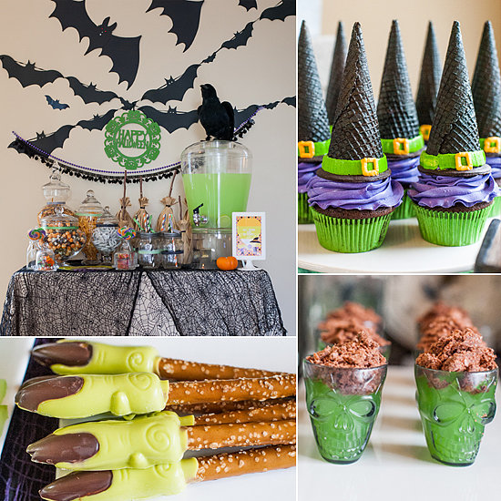 Kids halloween party with creative sweets popsugar moms for Creative ideas for halloween treats