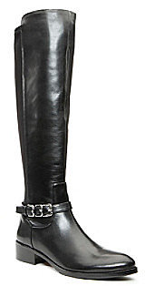 "Donald J Pliner Donald J. Pliner® ""Nellie"" Pull-on Knee High Boot - Black"