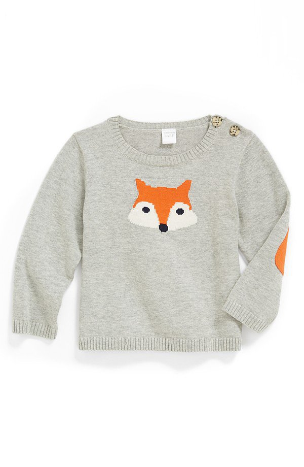 Nordstrom Baby Intarsia Knit Sweater 12 Cozy Sweaters For the Littlest Gent...