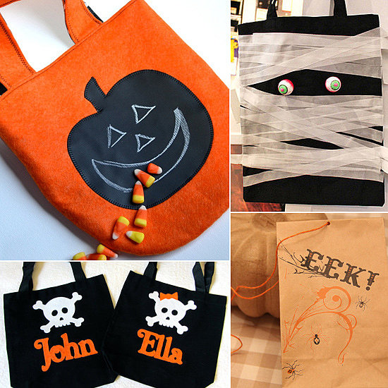 9 Handmade Treat Bags For Sweet Halloween Fun