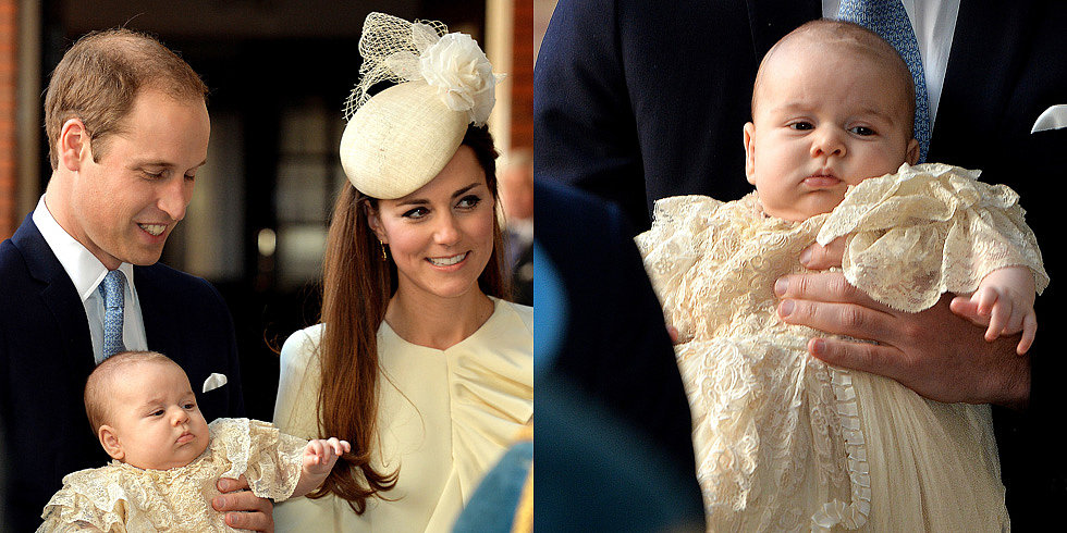 Relive Prince George's Sweet Christening
