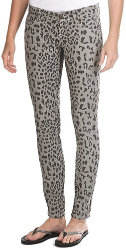Request Jeans Leopard Print Skinny Jeans - Low Rise (For Women)