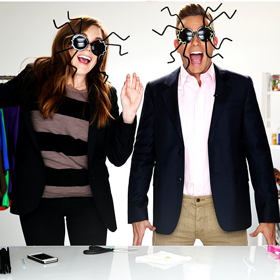 Halloween Costume DIY Spider Sunglasses | Video