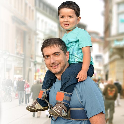 A Hands-Free Shoulder Carrier