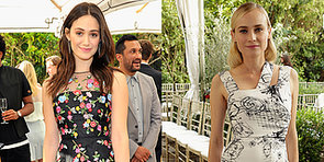 Diane Kruger and Lea Michele Frock Up For Vogue's Chicest Party