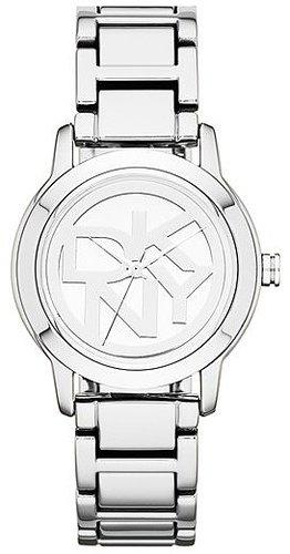 DKNY Round Logo Dial Bracelet Watch
