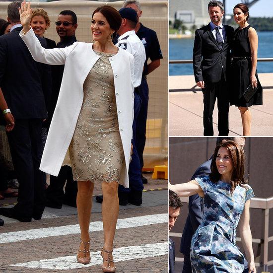 Princess Mary Visits Sydney