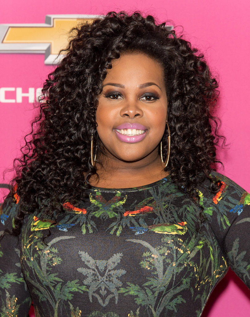 Curls are one of our favorite looks, and Amber Riley's were envy-inducing.