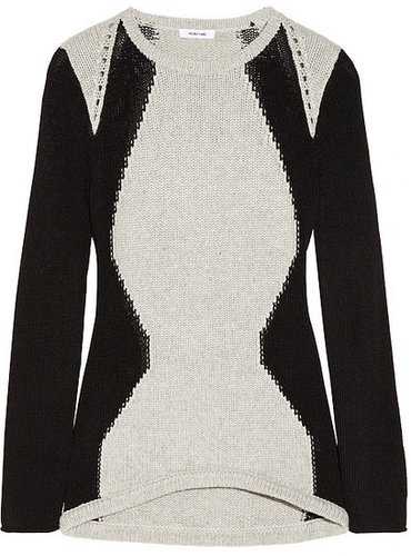 Helmut Lang Obstructed Borders knitted sweater