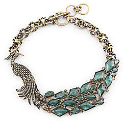 Peacock Statement Necklace