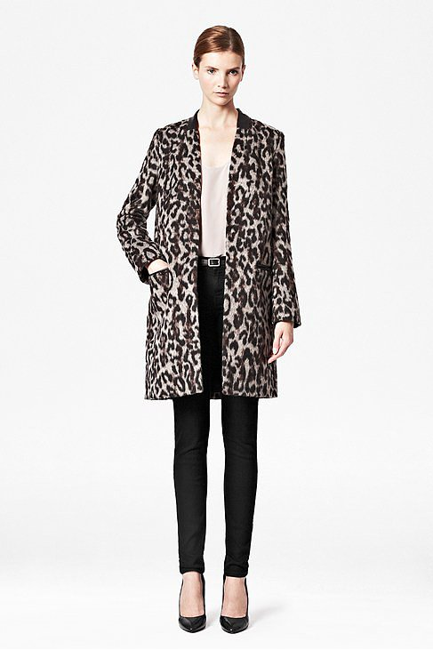 For a posh take on leopard print, try this