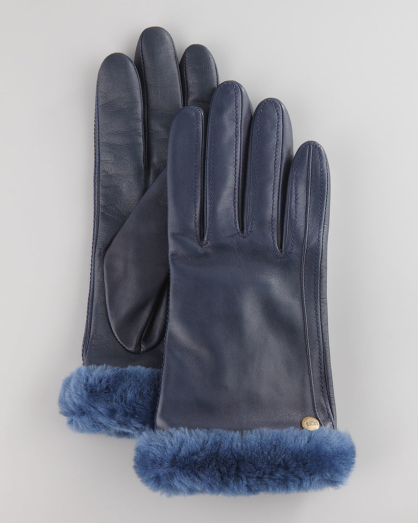 While the classic Ugg boot might be a polarizing piece of fashion, there can be no debate about the Australian brand's other cold-weather gear, like these Fur Trim Leather Smart Gloves ($125). They're made from ultrasoft shearling, and the