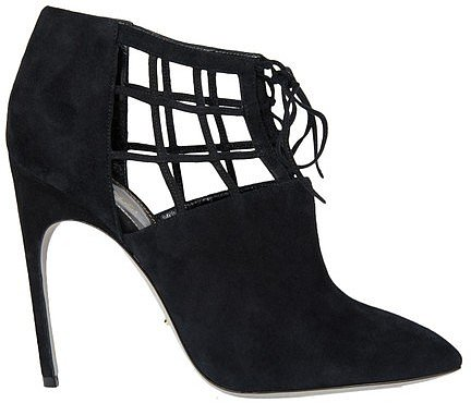 Sergio Rossi Laced Ankle Boots