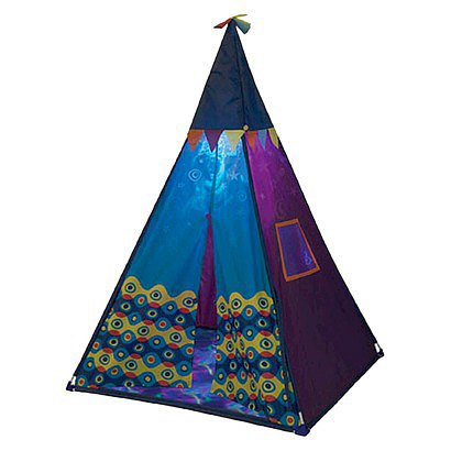 For 4-Year-Olds: B. Teepee Tent Set