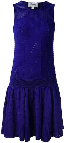 Temperley London drop waist dress