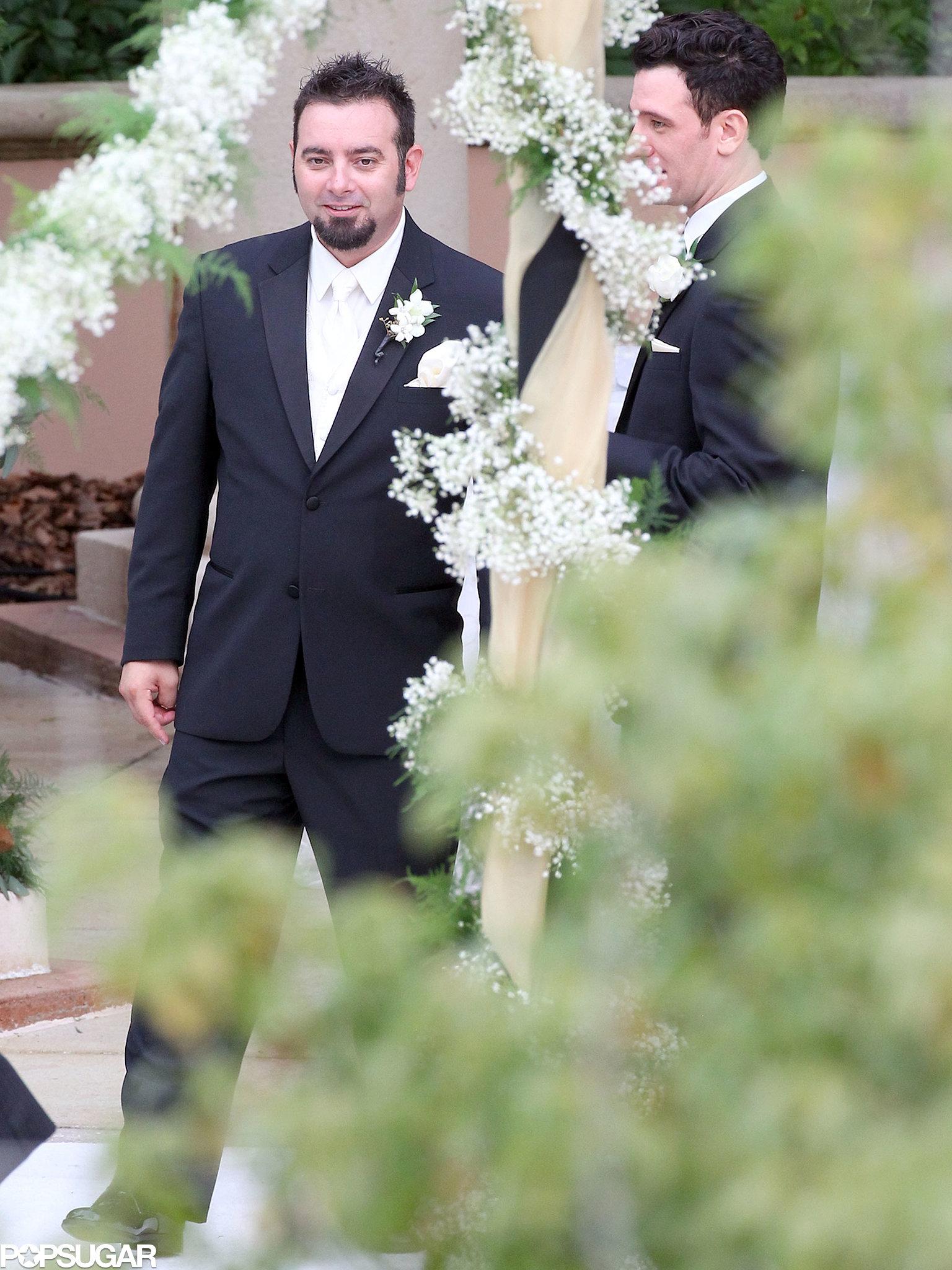 Chris Kirkpatrick got married in Orlando, FL.