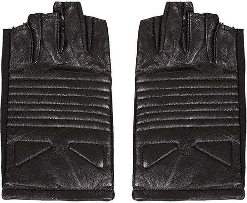 Fingerless Biker Gloves