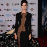 Jaimie Alexander's Dress at the Thor Premiere | Video