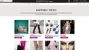 Welcome to ShopStyle