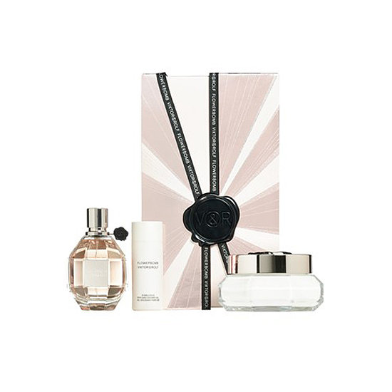 In the Viktor & Rolf Flowerbomb Holiday Set ($205), she'll get a full-size perfume and body cream along with a travel-size shower gel. The bottles are so beautiful, they'll easily pass as decoration.