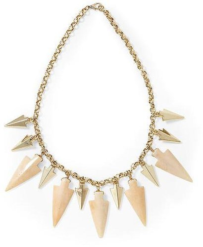 Hive & Honey Arrowhead Statement Necklace
