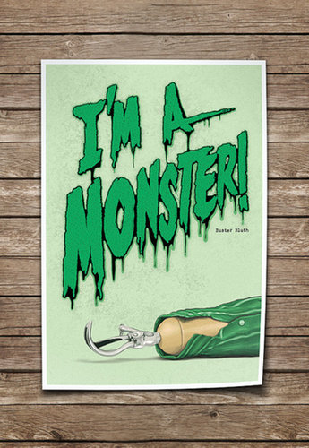 "Arrested Development ""I'm a Monster"" Poster ($35)"
