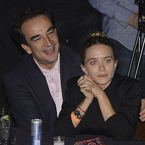 Mary-Kate Olsen and Olivier Sarkozy Cuddle at Blues Concert