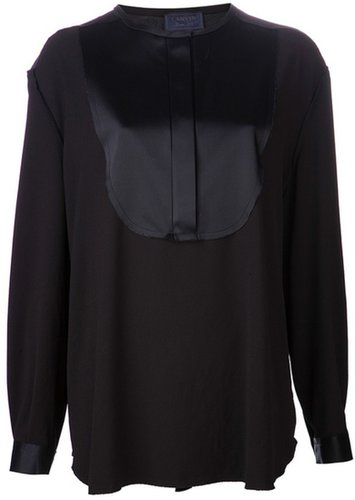 Lanvin concealed button down blouse