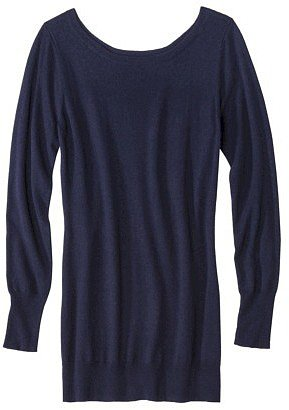 Mossimo® Women's Ultrasoft Boatneck Tunic Sweater - Assorted Colors