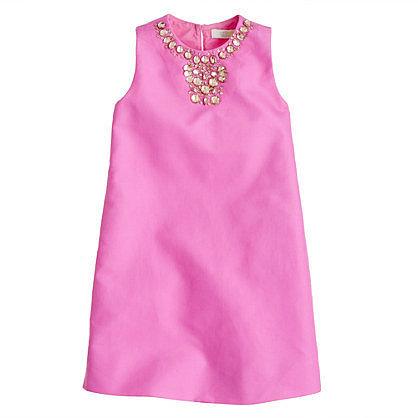 Girls' cotton cady Gracen dress
