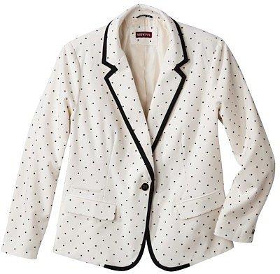 Merona®  Women's Plus-Size Long-Sleeve Oxford Blazer - Assorted Colors
