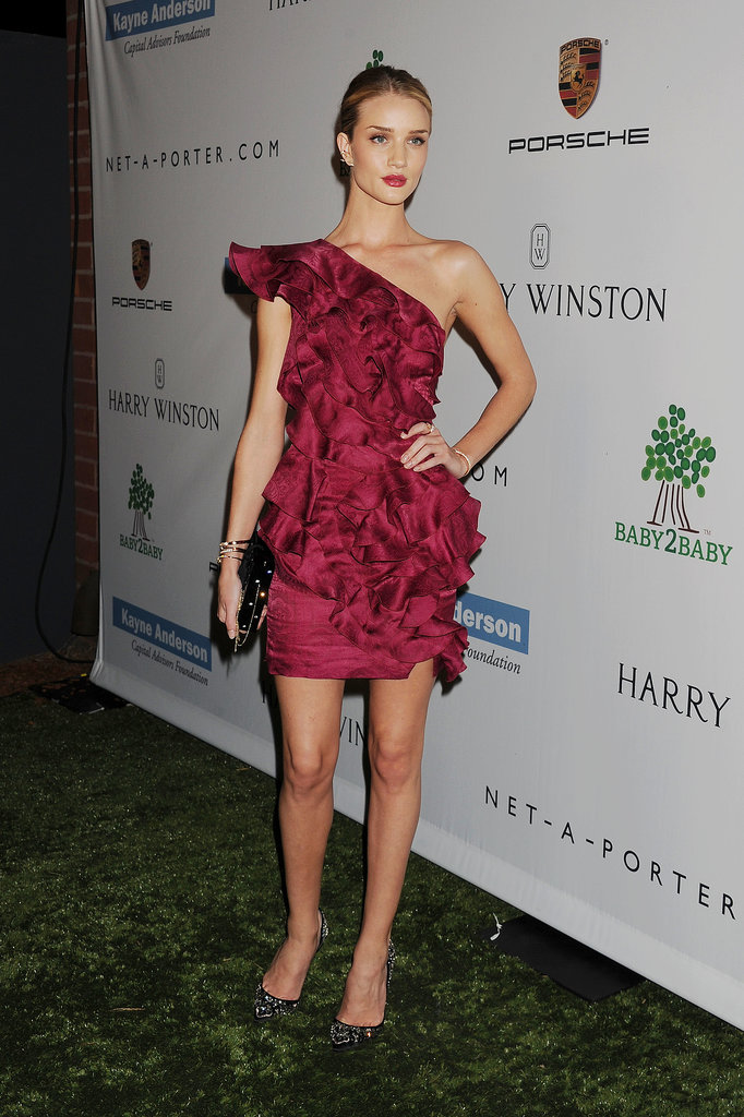 Rosie Huntington-Whiteley attended the Baby2Baby Gala.