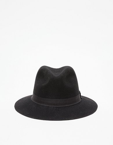 Houston Fedora in Black