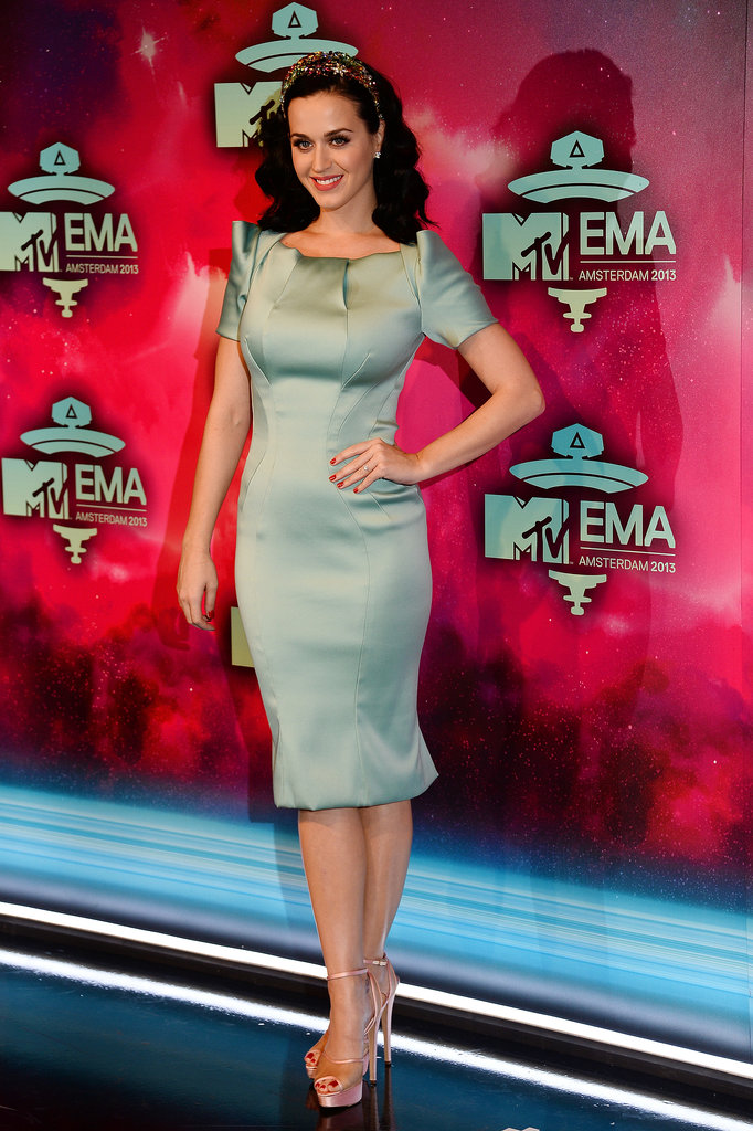 Katy Perry attended the MTV EMAs in Amsterdam.