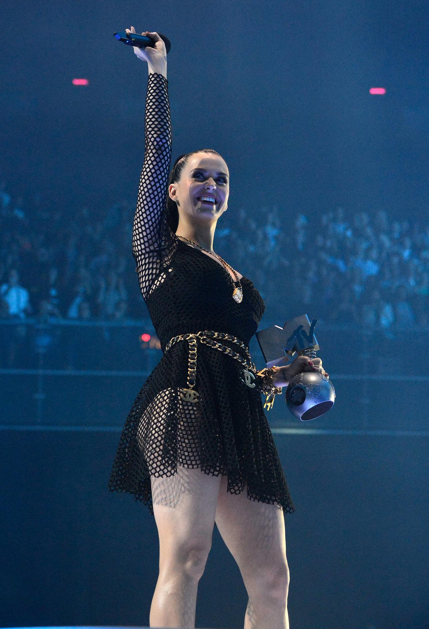 Katy Perry Takes Flight at the EMAs