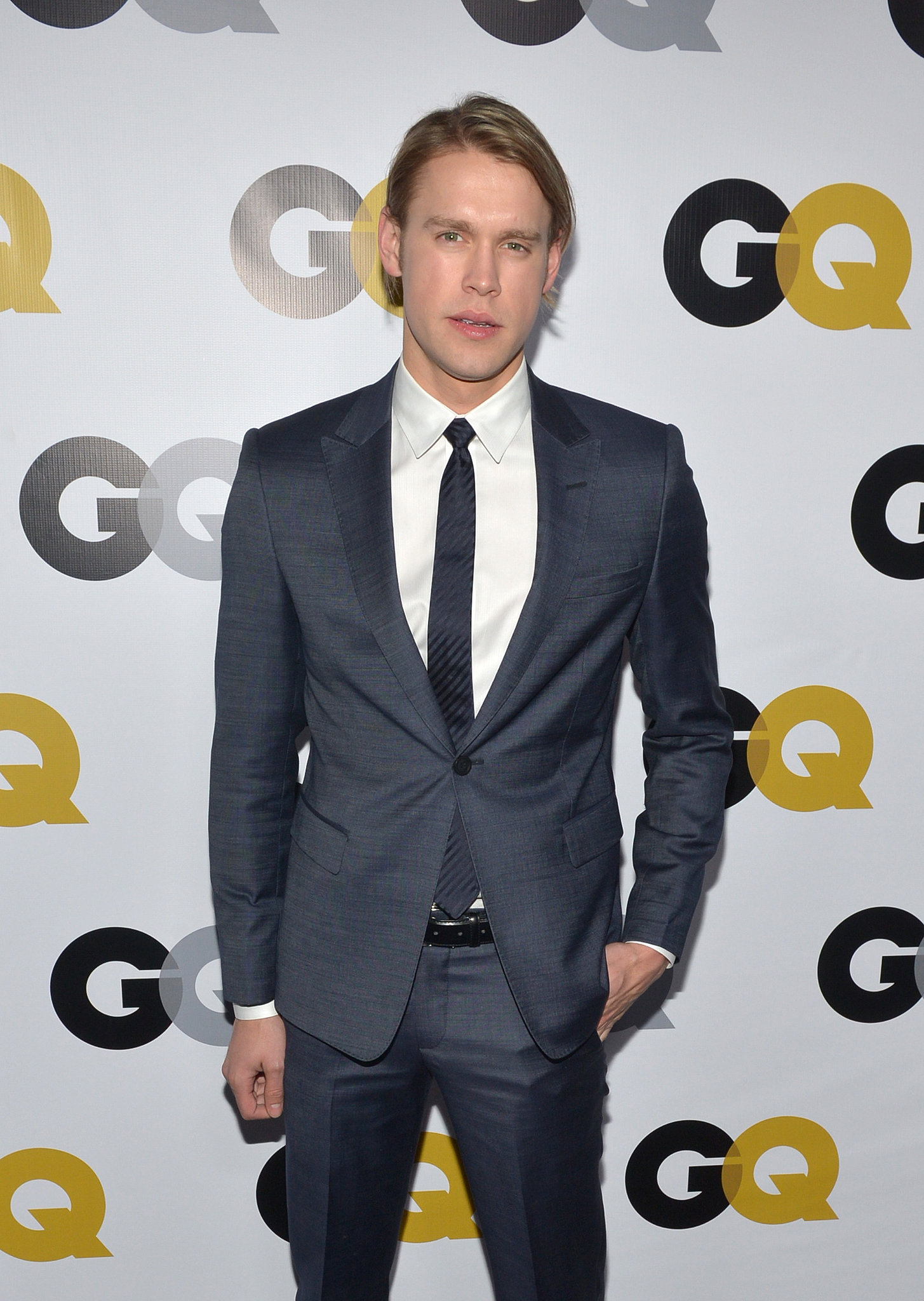 Chord Overstreet suited up for the GQ Men of the Year party.