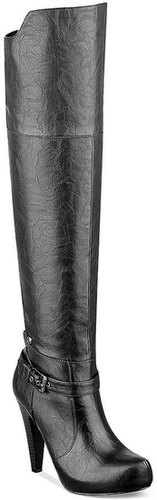G by GUESS Women's Trinna Over-the-Knee Platform Dress Boots