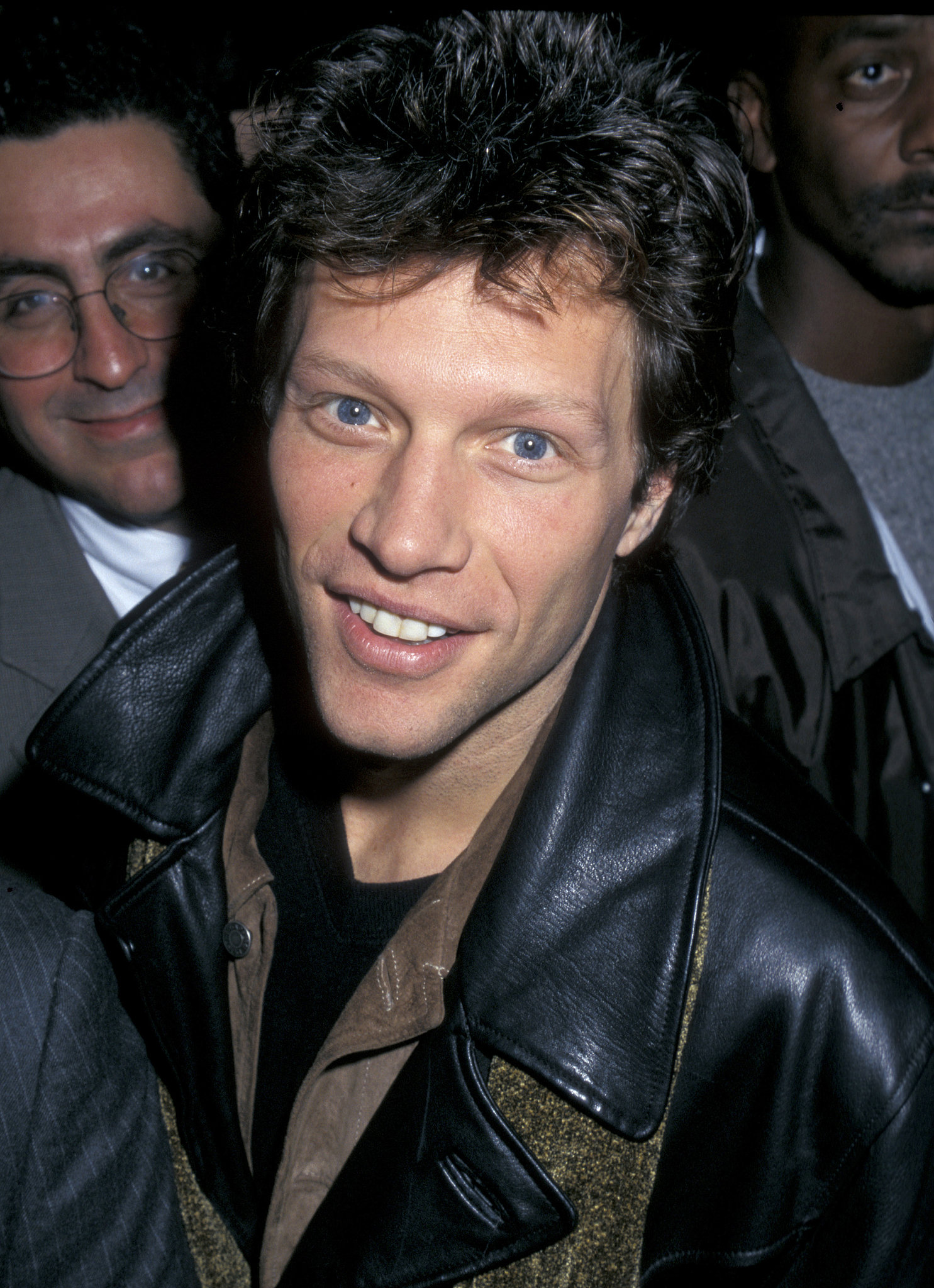Jon Bon Jovi enjoyed his front-row seat in 1997.