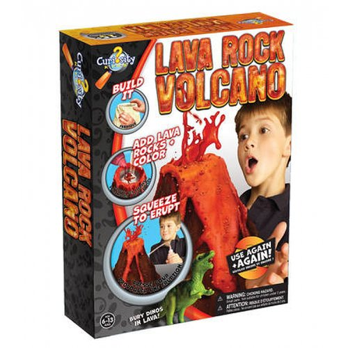 For 6-Year-Olds: Curiosity Kits Lava Rock Volcano