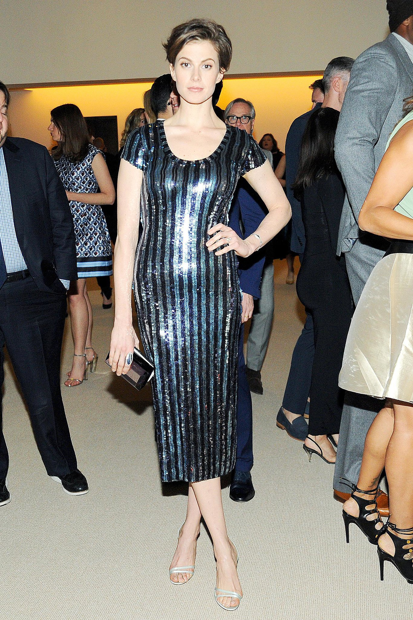Elettra Wiedemann at the CFDA/Vogue Fashion Fund Awards.